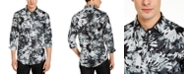 INC International Concepts INC Men's Watercolor Floral Shirt, Created For Macy's